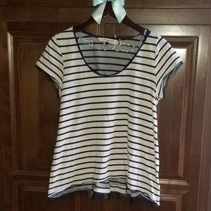 Anthropologie Pilcro Striped Top